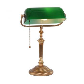 Bankierslamp groen 6185BR 1