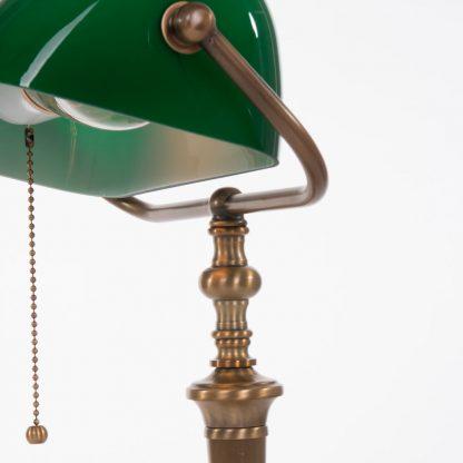 Bankierslamp groen 6185BR-4