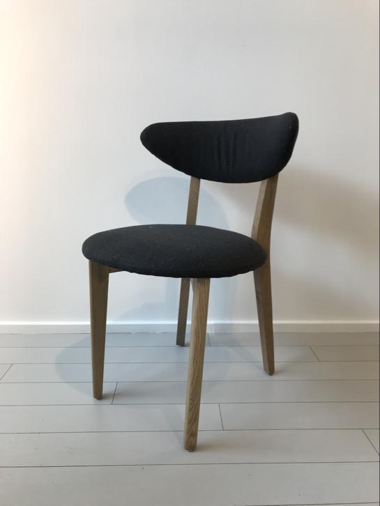 Eetkamer stoelen retro