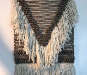 Wandkleed taupe