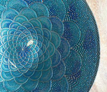 schaal blauw glas 2