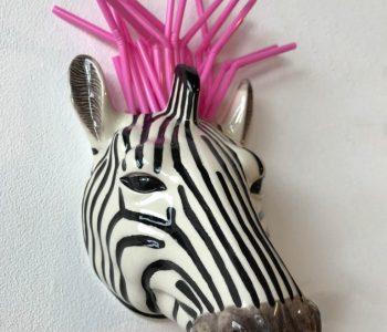 wandvaas zebra