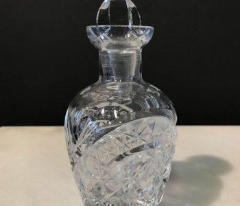 Drankflesje blank glas