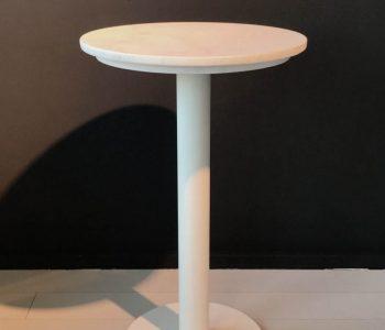 marmer tafeltje wit