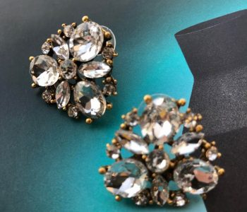 Oorbellen diamantjes