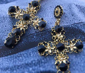 kruisjes met zwart