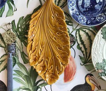 blad kaasplank geel 1