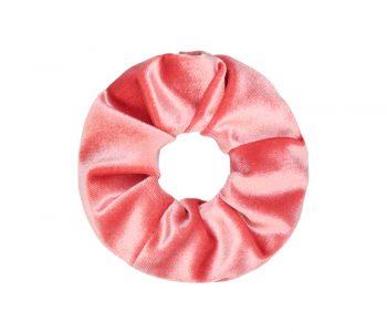 Scrunchie roze Oud Nieuws