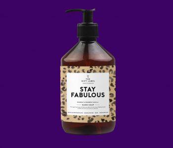 OUDNIEUSTWELLO_the gift label_handsoap_stayfabulous_webpackshot
